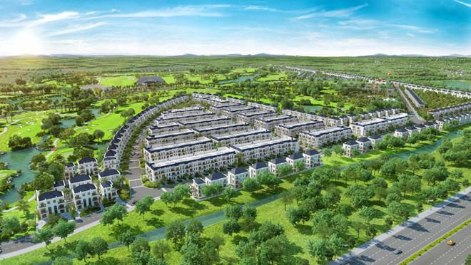 Siêu dự án biệt thự sân golf xuất hiện tại Long An