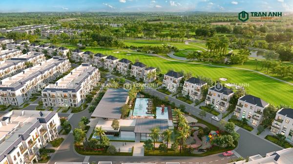 Biệt thự sân golf West Lakes Golf & Villas nguồn lợi nhuận lớn từ cho thuê ngắn hạn