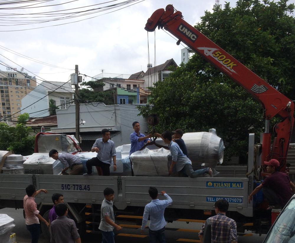Dịch vụ bốc xếp hàng hóa quận Bình Thạnh uy tín, giá rẻ tại Tphcm