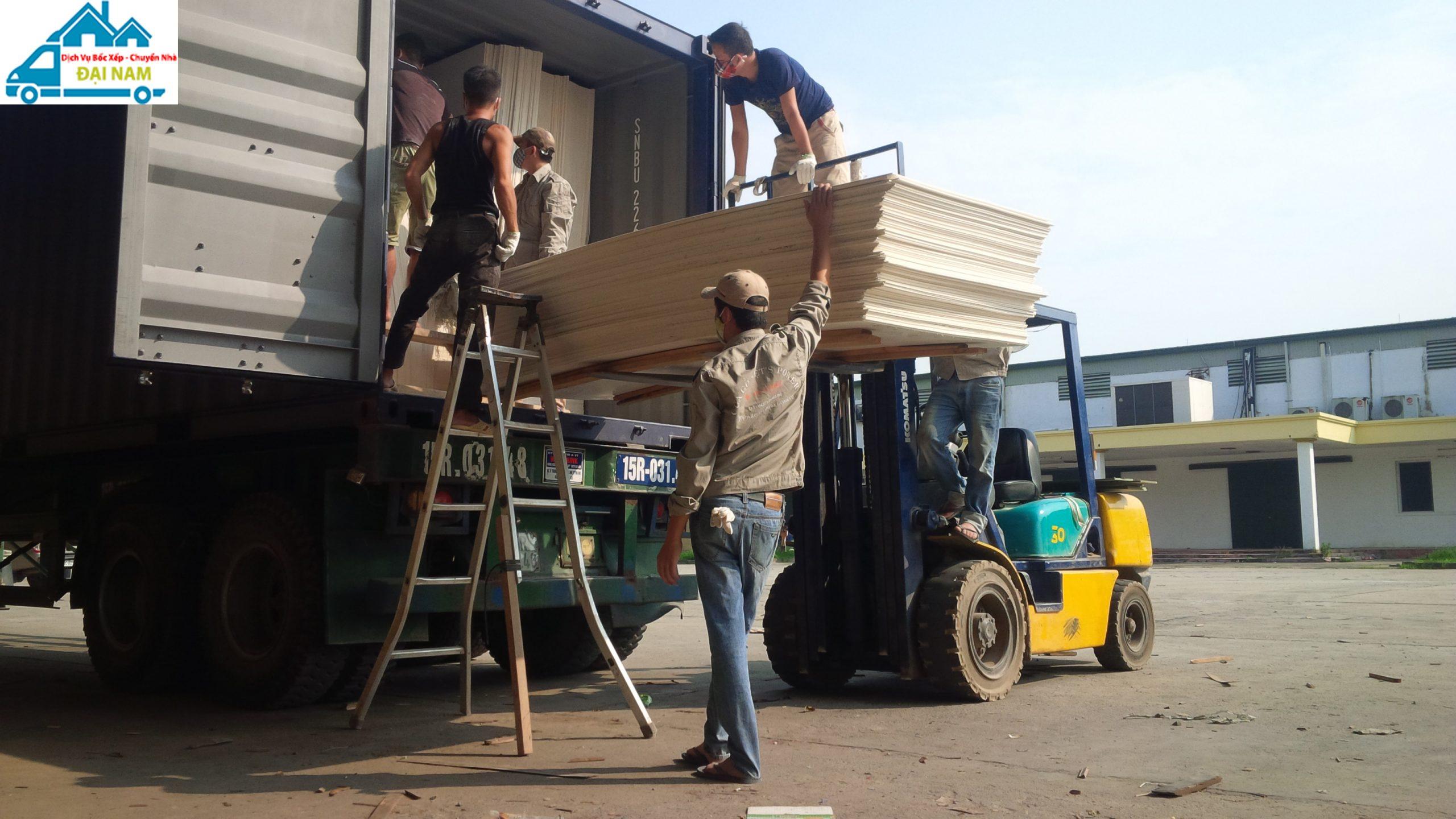 Dịch vụ bốc xếp hàng hóa quận Gò Vấp giá rẻ uy tín tại Tphcm