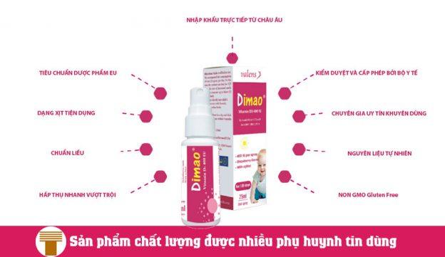 Vitamin D3 Dạng Xịt DIMAO